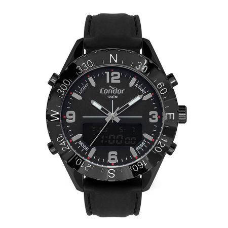 Relógio Condor Anadigi Masculino Preto COBJ3689AA/2P