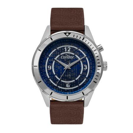 Relógio Condor Traveler Masculino Prata COY121E3AB/3A