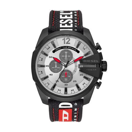 Relógio Diesel Mega Chief Masculino Preto DZ4512/8PN