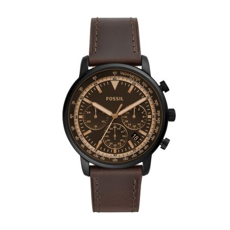 Relógio Fossil Goodwin Chrono Masculino Marrom FS5529/0MN