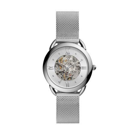 Relógio Fossil Tailor Automatic Feminino Prata ME3166/1KN