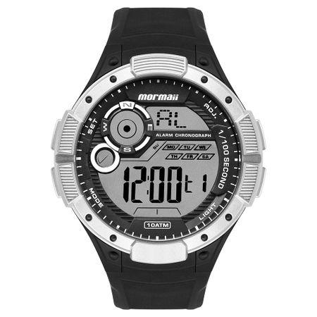 Relógio Mormaii Wave Masculino Prata MO1590AA/8K