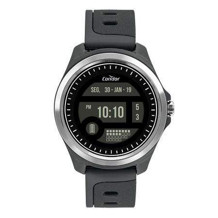 Relógio Condor Masculino Digital + Prata COKW05CAA/8C