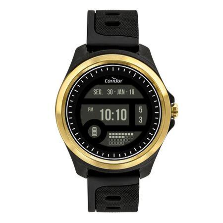 Relógio Condor Masculino Digital + Dourado COKW05CAA/8D