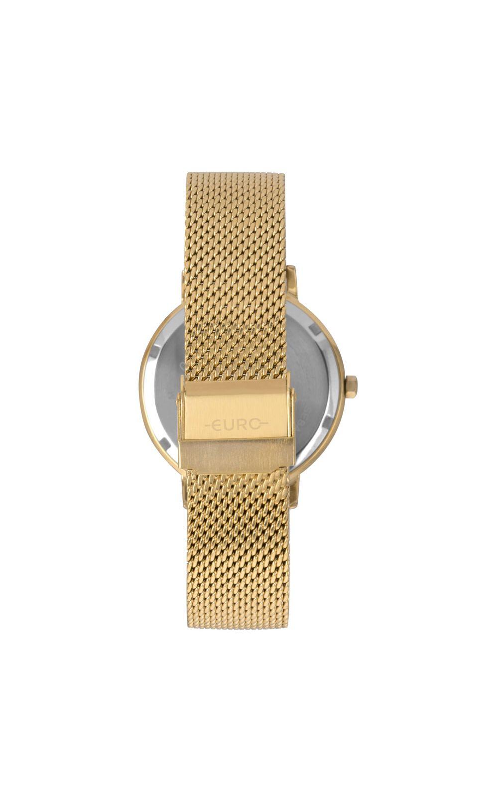 Foto 3 - Relógio Euro Crystal Move Feminino Dourado EU2035YRU/4P