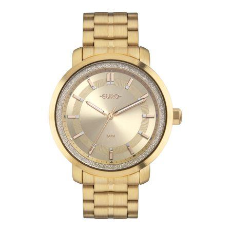 Relógio Euro Casual Shine Feminino Dourado EU2036YOY/4D