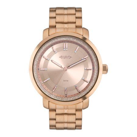 Relógio Euro Casual Shine Feminino Rosé EU2036YPA/4J