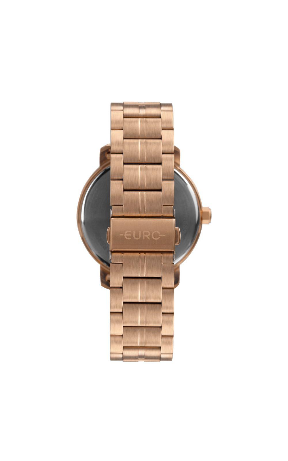 Foto 3 - Relógio Euro Casual Shine Feminino Rosé EU2036YPA/4J