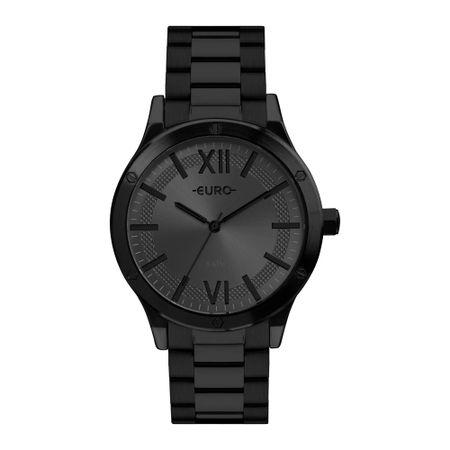 Relógio Euro Boyfriend Feminino Preto EU2036YPF/4C