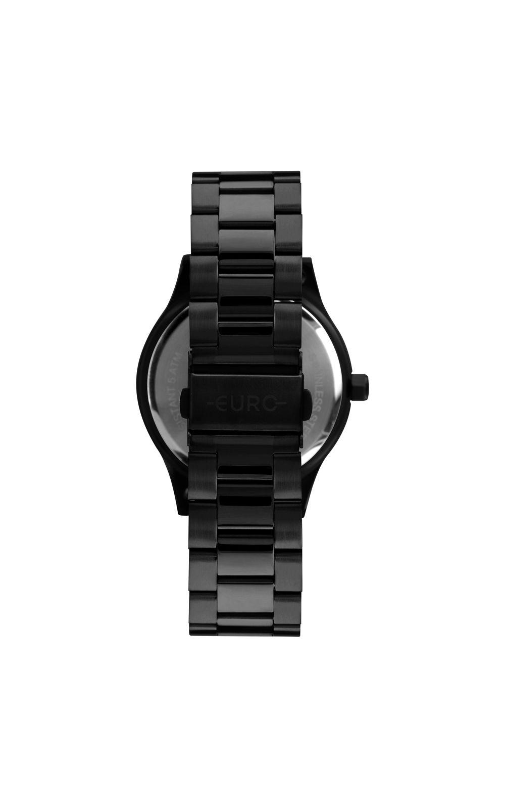 Foto 3 - Relógio Euro Boyfriend Feminino Preto EU2036YPF/4C