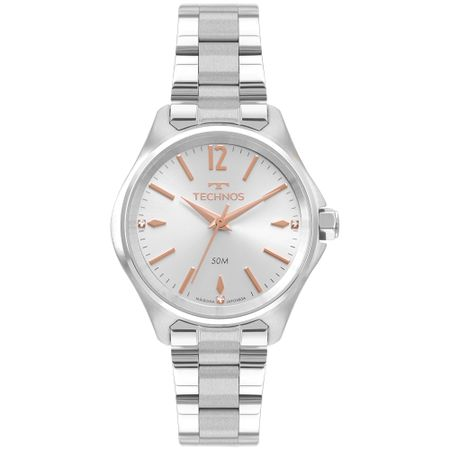Relógio Technos Boutique Feminino Prata 2035MRG/1K