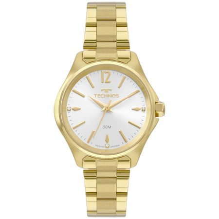 Relógio Technos Boutique Feminino Dourado 2035MRH/4K