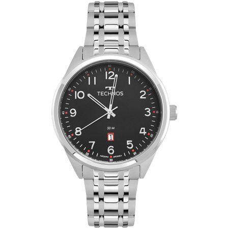 Relógio Technos Steel Masculino Prata 2115MSA/1P