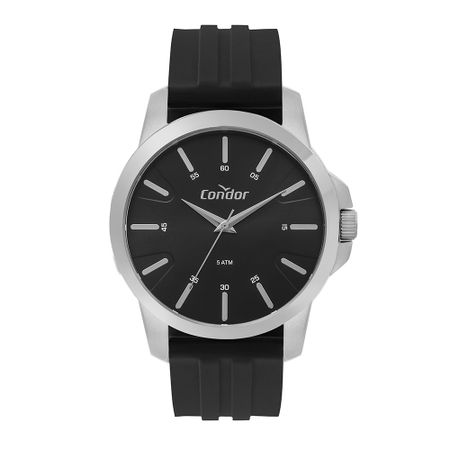 Relógio Condor Casual Masculino Prata CO2035MTH/3P