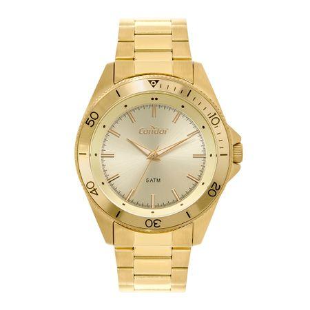 Relógio Condor Casual Masculino Dourado CO2035MTI/4X