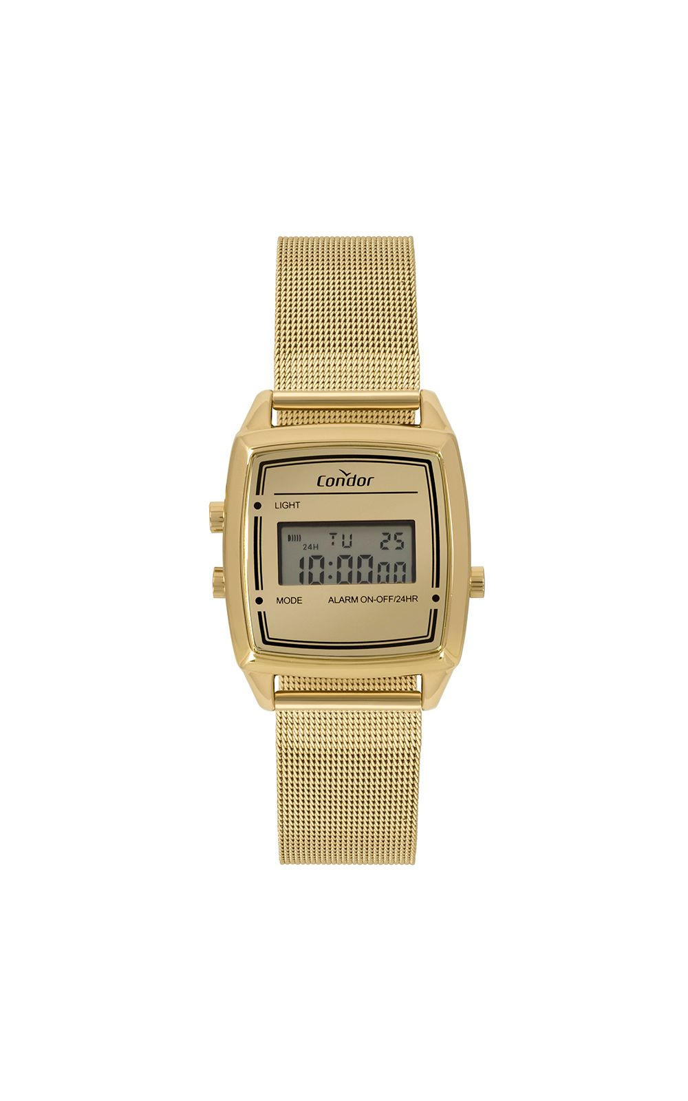 Foto 1 - Relógio Condor Mini Feminino Dourado COJH512AE/4D