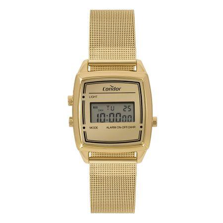 Relógio Condor Mini Feminino Dourado COJH512AE/4D