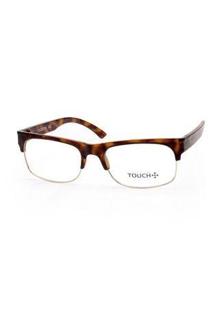 Oculos-Touch-no-Grau---3º-Colecao--Tartaruga-marrom-e-Dourado-OC222TW-8D