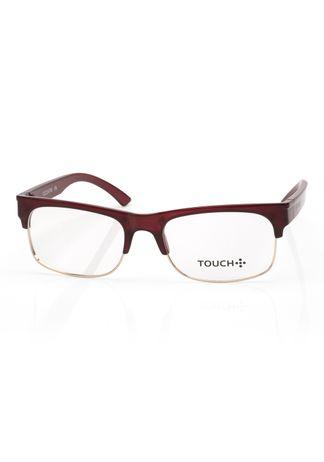 Oculos-Touch-no-Grau--3º-Colecao--Bordo-e-Dourado-OC224TW-8D