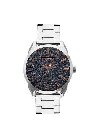 Relogio-Touch-Prata-com-Glitter-Azul---TW2039AO-3A