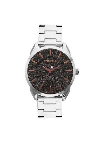Relogio-Touch-Prata-com-Glitter-Preto---TW2039AO-3B