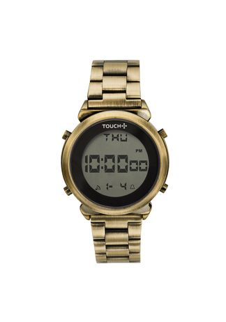 Relogio-Touch-Digital-Dourado-TW016R4B-4D