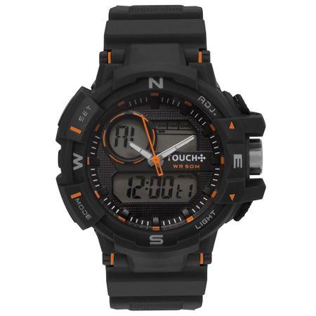 Relógio Touch Masculino Novo Olhar Preto - TWDGAO/8P