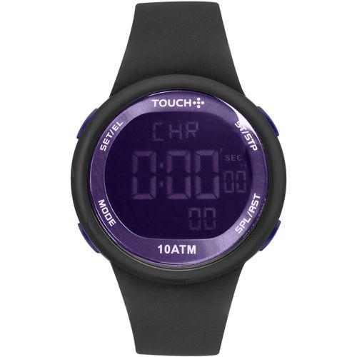 Relógio Touch Unissex Ela É Fit Ela Prata - TWDGAM/8P
