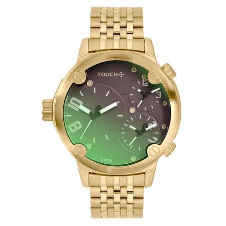 Relógio Touch Prisma Masculino Dourado TW2035LCW/4P