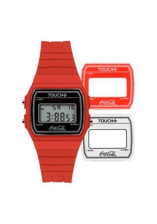 Relogio-Touch-Unissex-Vermelho-TWDGAS-8R