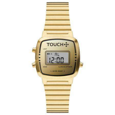 Relógio Touch Feminino Miúdo Dourado TWJHS512BC/4D