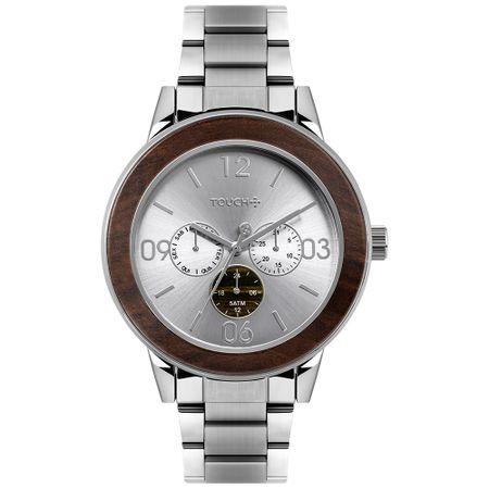 Relógio Touch Masculino Integridade Prata TW6P29ZH/3C