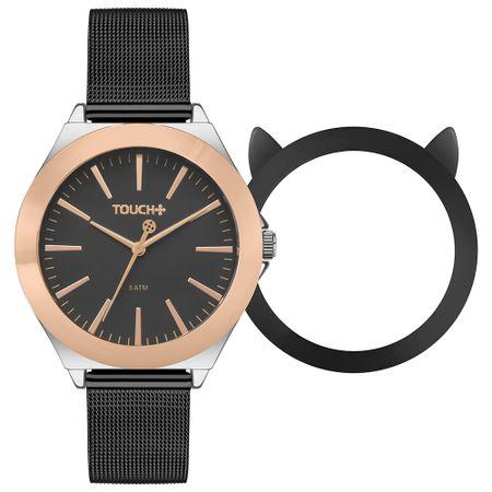 Relógio Touch Feminino Miau Bicolor TW2035LDP/T5P