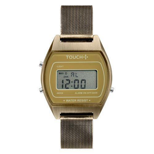 Relogio-Touch-Unissex-Terra-Dourado---TWJH02BG-T4D