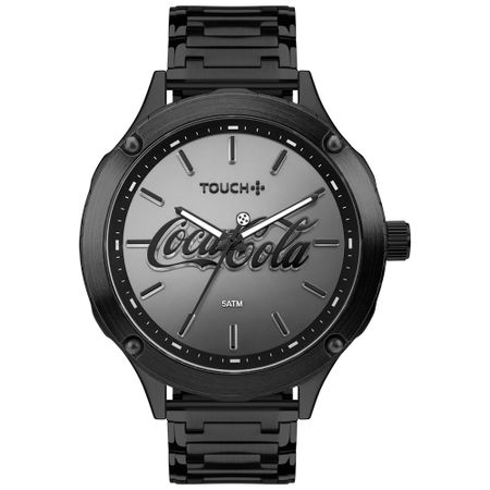 Relógio Touch Coca-Cola Masculino Preto TW203AAB/4P