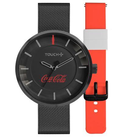 Relógio Touch Coca-Cola Masculino Preto TW2035MOU/T8P