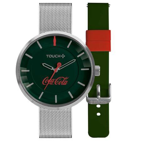 Relógio Touch Coca-Cola Masculino Prata TW2035MOV/T8V
