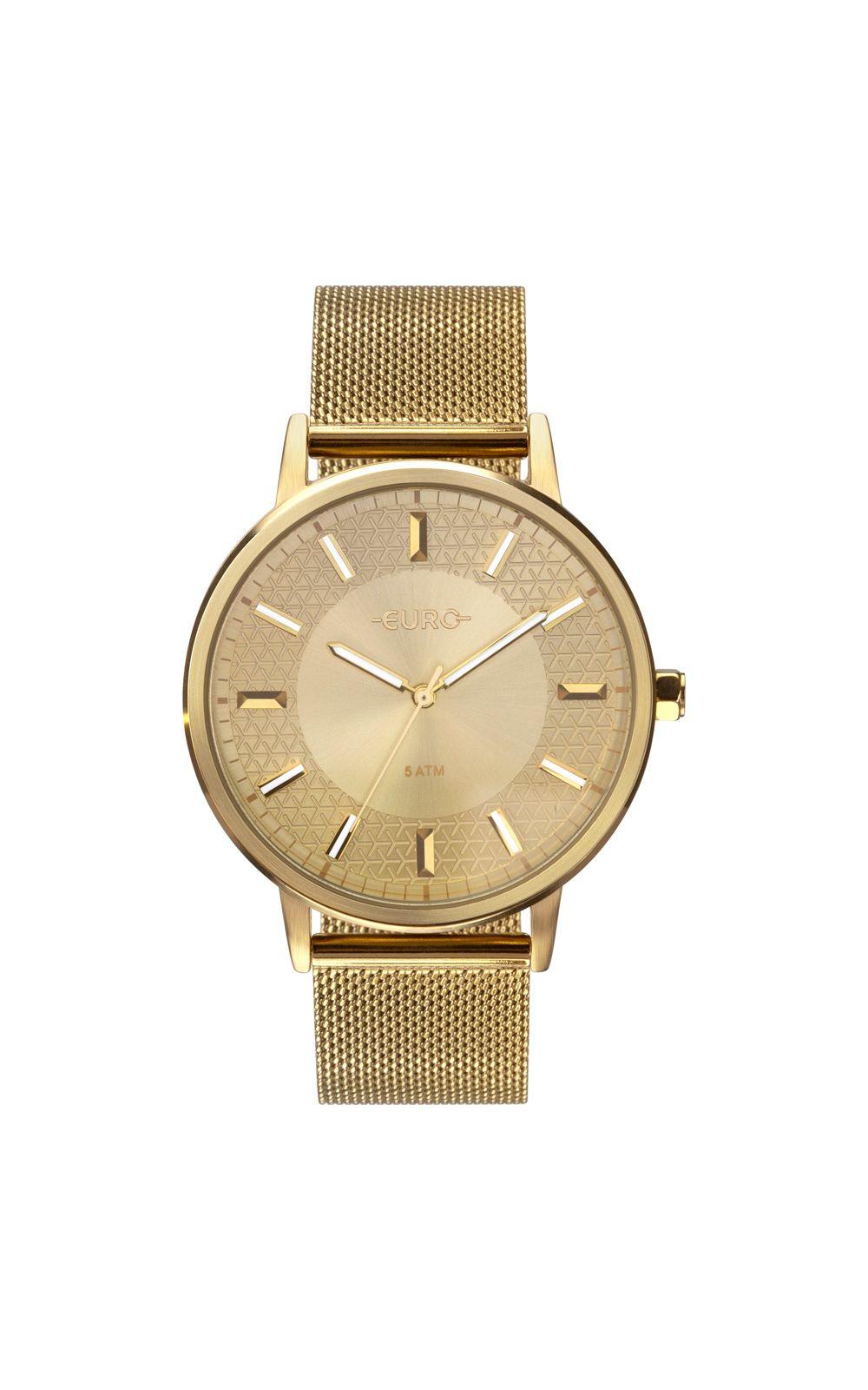 Foto 1 - Relógio Euro Feminino Mix Texture Dourado EU2036YPB/4D