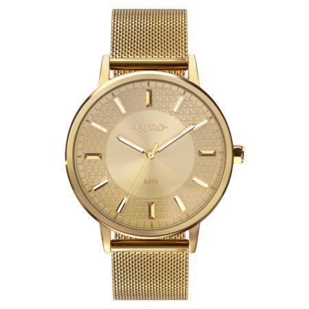 Relógio Euro Feminino Mix Texture Dourado EU2036YPB/4D