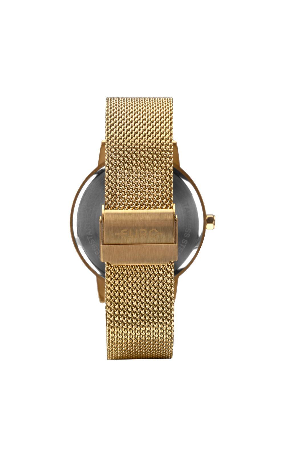 Foto 3 - Relógio Euro Feminino Mix Texture Dourado EU2036YPB/4D