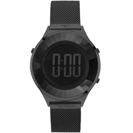Relógio Technos Feminino Crystal Preto - BJ3851AE/4P