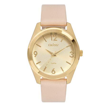 Relógio Condor Feminino Bracelete Dourado CO2035MTQ/K2X