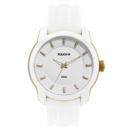 Relógio Touch Masculino Releituras Branco - TWINT2035AB/8B