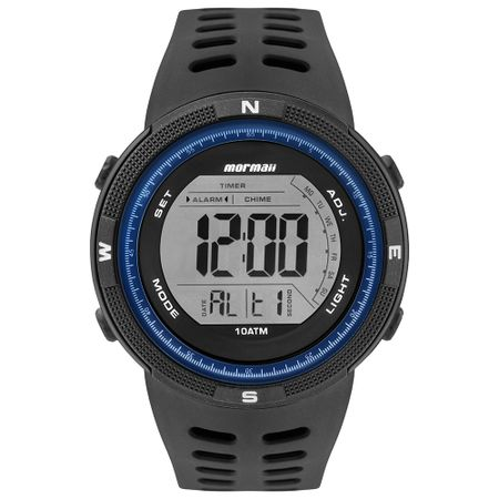 Relógio Mormaii Masculino Wave Preto - MO3590AA/8A