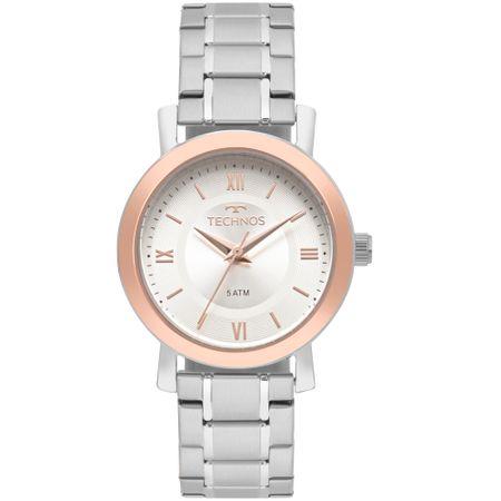 Relógio Technos Feminino Boutique Prata - 2035MMR/K5K