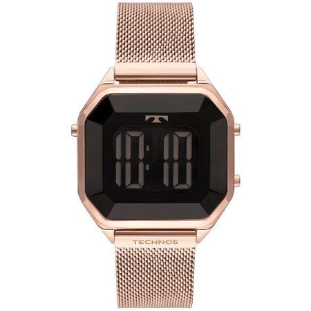 Relógio Technos Feminino Crystal Rosé BJ3851AK/4P