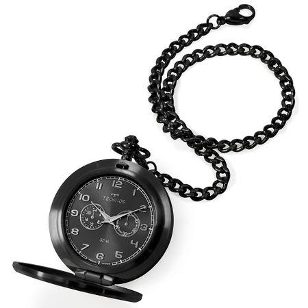 Relógio Technos Masculino Heritage Preto VD77AB/4P