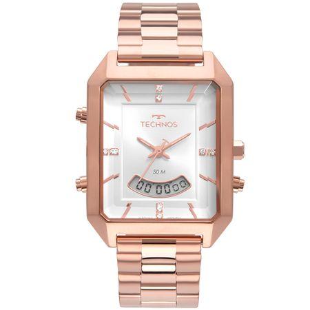 Relógio Technos Feminino Digital Rosé T200AH/4K
