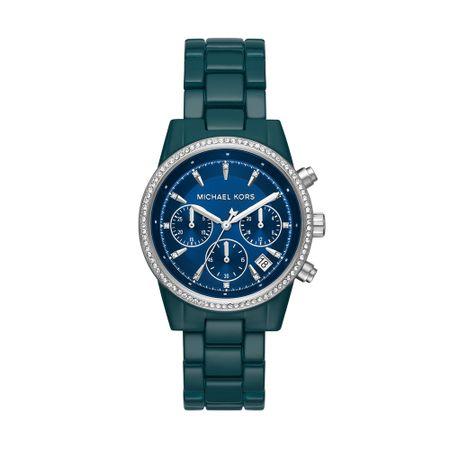 Relógio Michael Kors Feminino Ritz Azul MK6722/1VN
