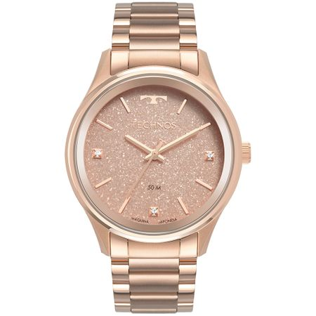 Relógio Technos Feminino Dress Rosé 2036MLY/4T